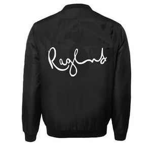 RAGLAND VARSITY PERFORMANCE FLEECE LEATHER SLEEVE