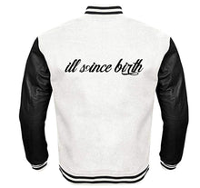 Load image into Gallery viewer, ILL SINCE BIRTH APPAREL VARSITY PERFORMANCE FLEECE LEATHER SLEEVE