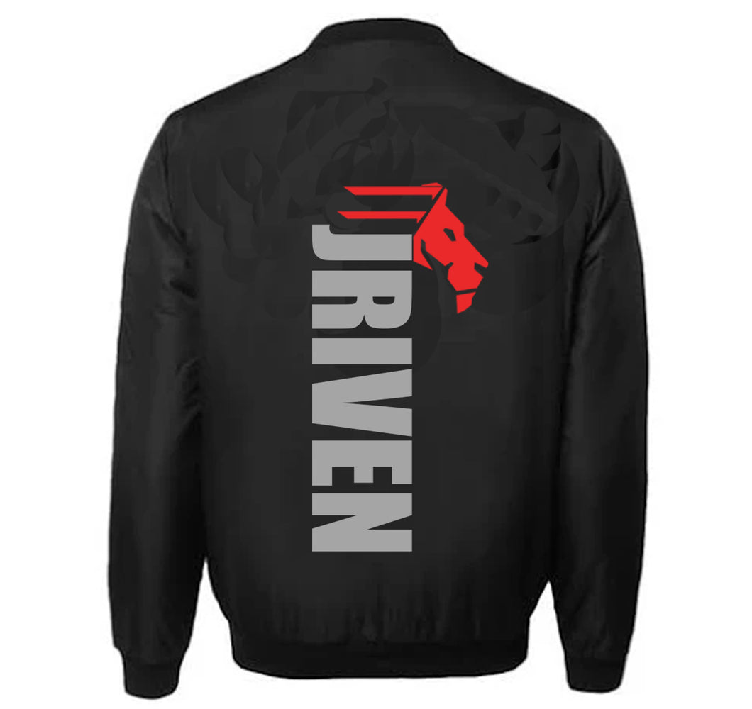 JRIVEN APPAREL VARSITY PERFORMANCE FLEECE LEATHER SLEEVE