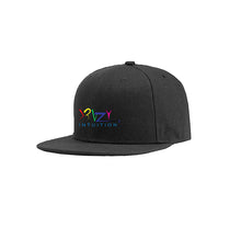 Load image into Gallery viewer, KRAZY INTUITION APPAREL COTTON TWILL 6 PANEL SNAPBACK HAT