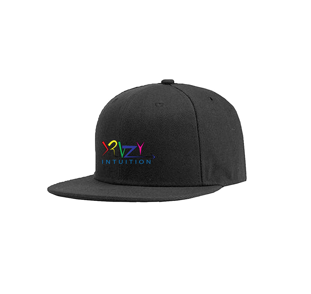 KRAZY INTUITION APPAREL COTTON TWILL 6 PANEL SNAPBACK HAT