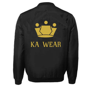 KA WEAR VARSITY PERFORMANCE FLEECE LEATHER SLEEVE