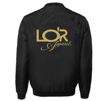 Load image into Gallery viewer, LOR APPAREL VARSITY PERFORMANCE FLEECE LEATHER SLEEVE