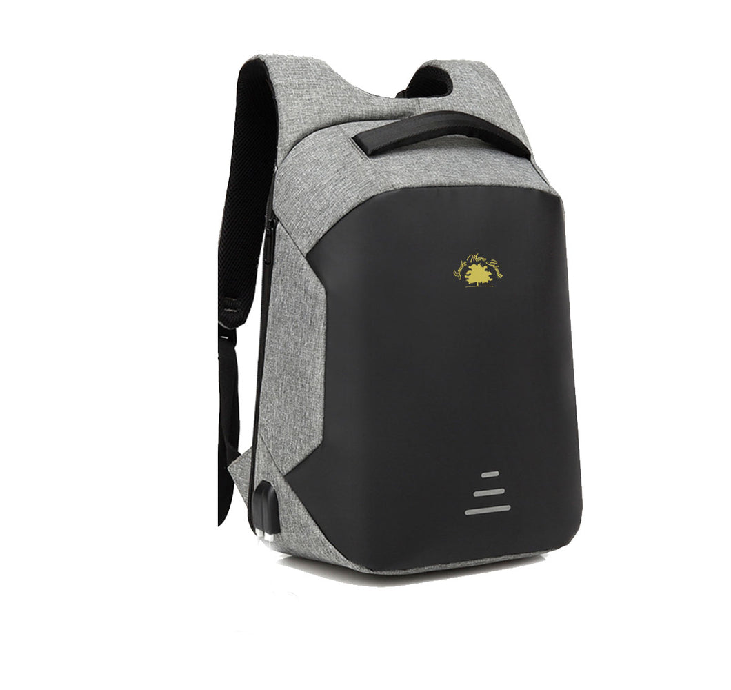 SMOKE MORE BLUNTZ HARD SHELL BACKPACK w/ BATTERY SUPPORT