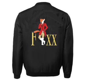 FOXX APPAREL VARSITY PERFORMANCE FLEECE LEATHER SLEEVE