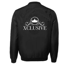 Load image into Gallery viewer, XCLUSIVE APPAREL VARSITY PERFORMANCE FLEECE LEATHER SLEEVE