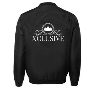 XCLUSIVE APPAREL VARSITY PERFORMANCE FLEECE LEATHER SLEEVE
