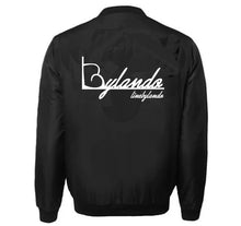 Load image into Gallery viewer, LINE BY LANDO APPAREL VARSITY PERFORMANCE FLEECE LEATHER SLEEVE
