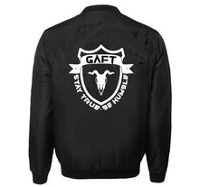 Load image into Gallery viewer, GOAT APPAREL FIT VARSITY PERFORMANCE FLEECE LEATHER SLEEVE