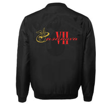 Load image into Gallery viewer, CASANOVA VII APPAREL VARSITY PERFORMANCE FLEECE LEATHER SLEEVE