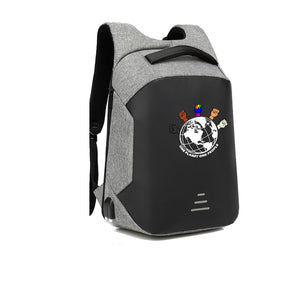 One Planet One People APPAREL HARD SHELL BACKPACK w/ BATTERY SUPPORT
