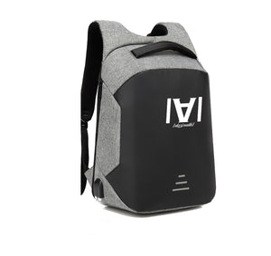 AKREMADIK APPAREL HARD SHELL BACKPACK w/ BATTERY SUPPORT