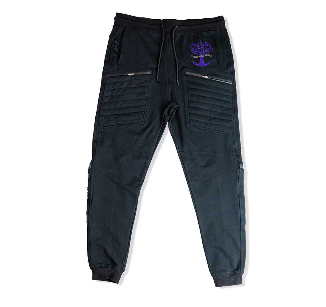ROOTED FROM THE SOUL APPAREL PREMIUM 4 ZIPPER POCKET JOGGERS - UNISEX SLIM FIT