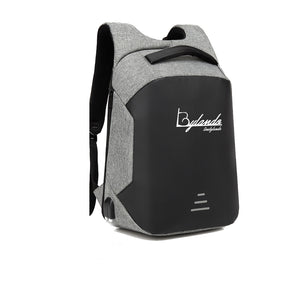 LINE BY LANDO APPAREL HARD SHELL BACKPACK w/ BATTERY SUPPORT
