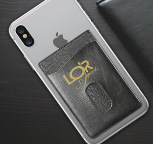 LOR APPAREL PHONE WALLET CASE 3M STICK ON