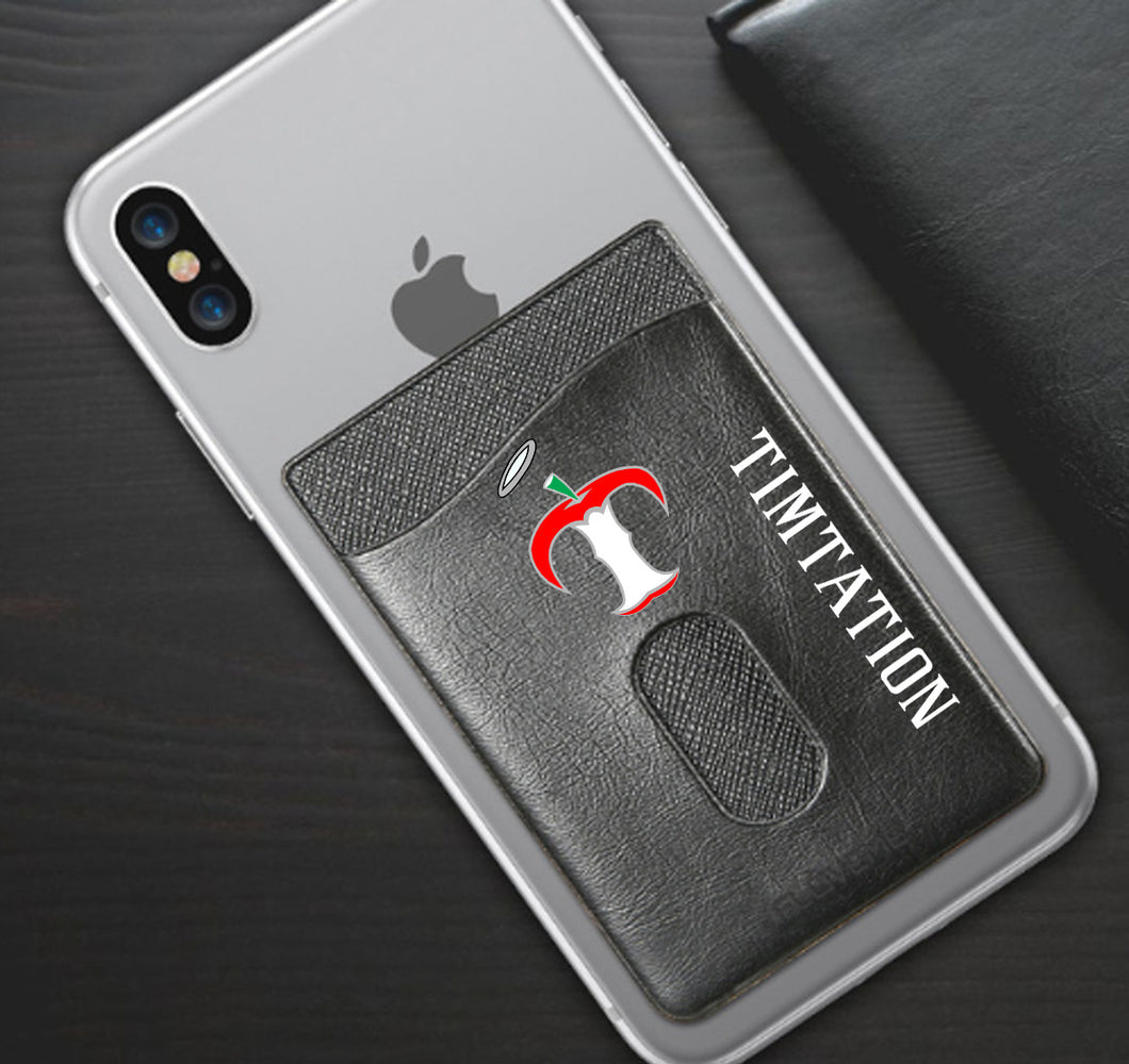 TIMTATION APPAREL PHONE WALLET CASE 3M STICK ON
