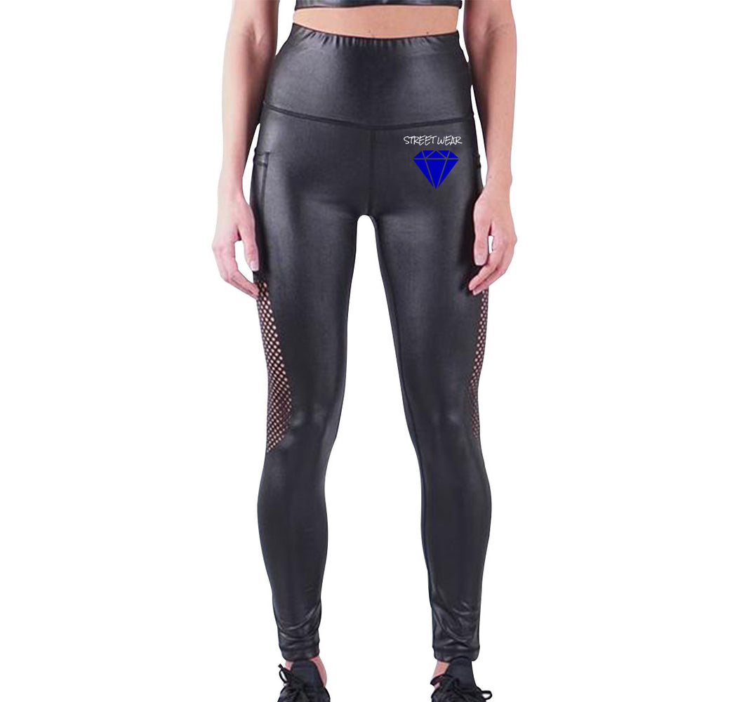 RARE STREETWEAR APPAREL LIQUID LEGGINGS