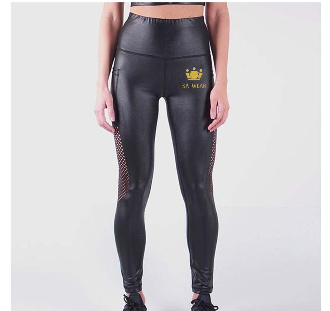 KA WEAR LIQUID LEGGINGS