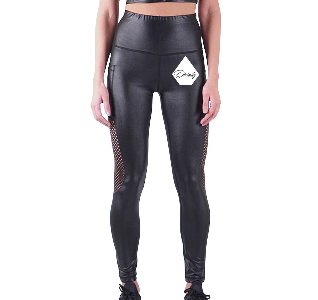 DIVINITY APPAREL LIQUID LEGGINGS