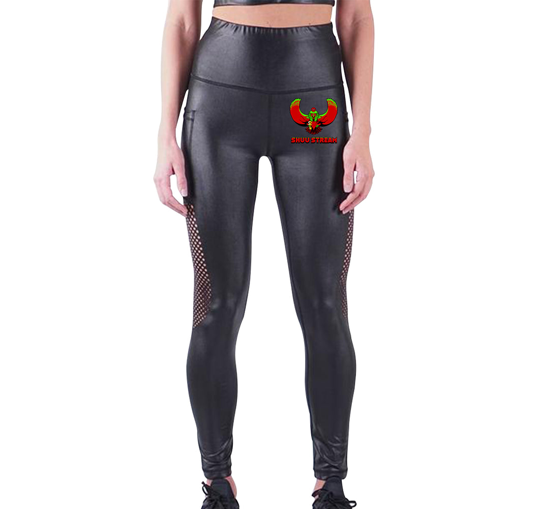 SHUU STREAM APPAREL LIQUID LEGGINGS
