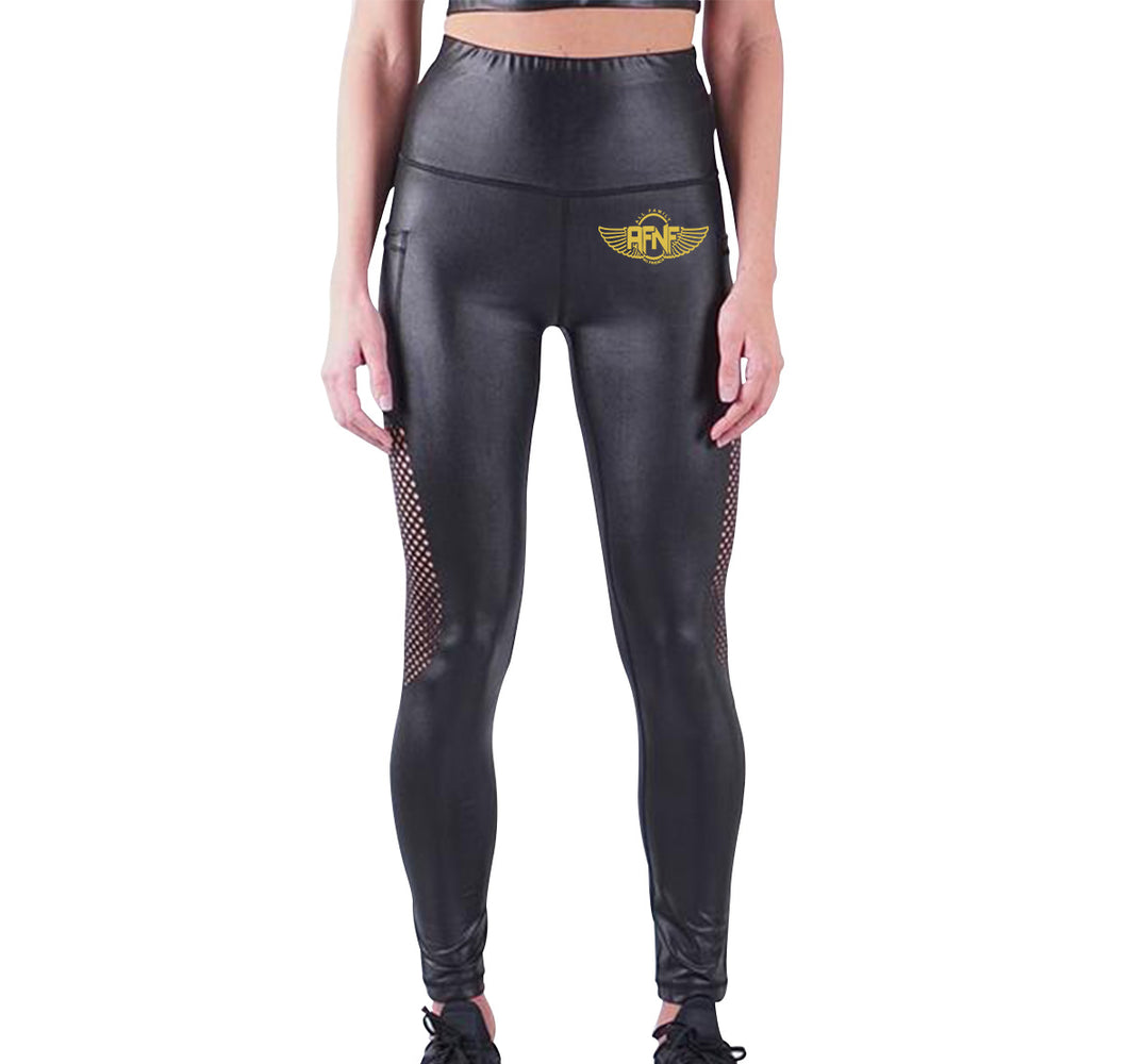 AFNF APPAREL LIQUID LEGGINGS