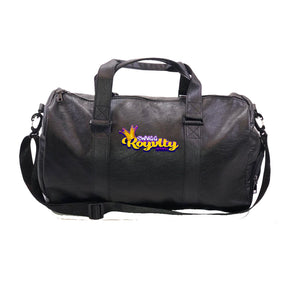 Swagg Royalty APPAREL Vegan Leather Duffel Bag w/ Side pockets