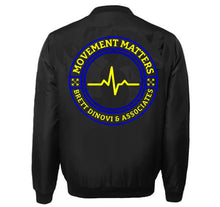 Load image into Gallery viewer, MOVEMENT MATTERS VARSITY PERFORMANCE FLEECE LEATHER SLEEVE