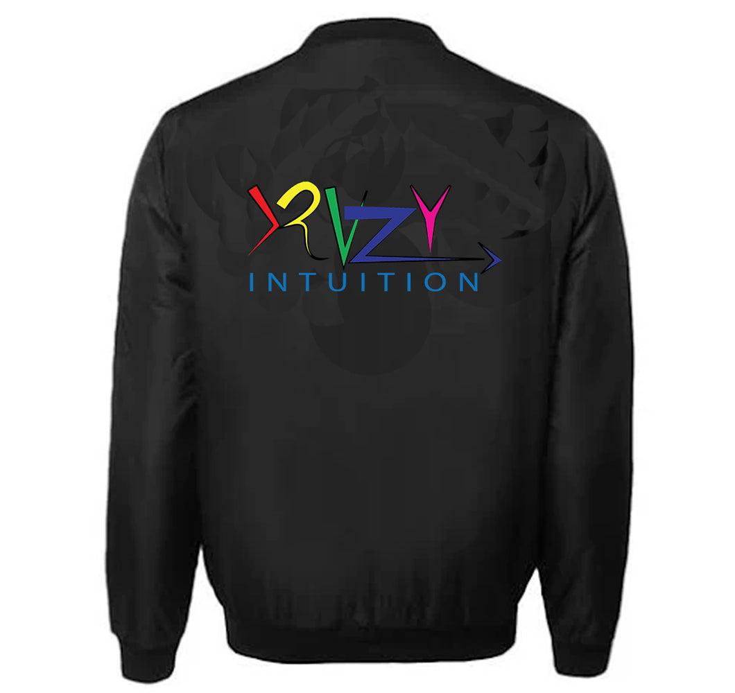 KRAZY INTUITION APPAREL VARSITY PERFORMANCE FLEECE LEATHER SLEEVE