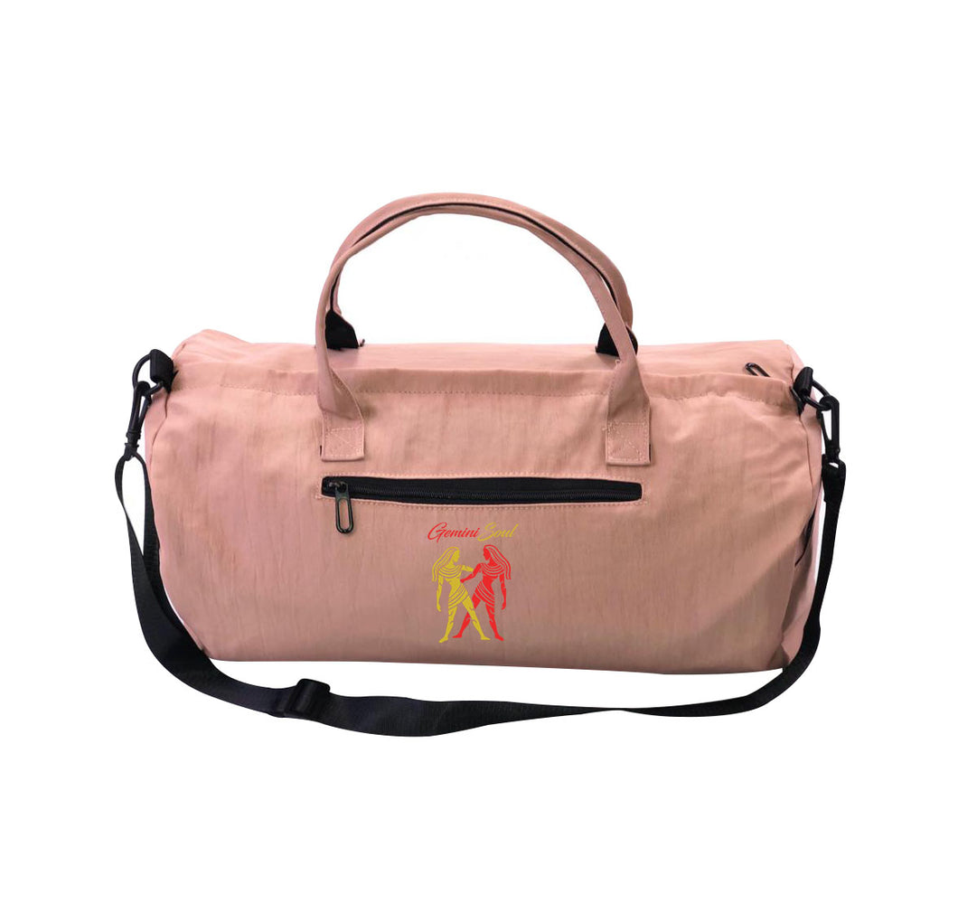 GEMINI SOUL APPAREL Cordura Canvas Duffel Bag w/ Side pockets