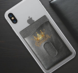 QWEENIN APPAREL PHONE WALLET CASE 3M STICK ON