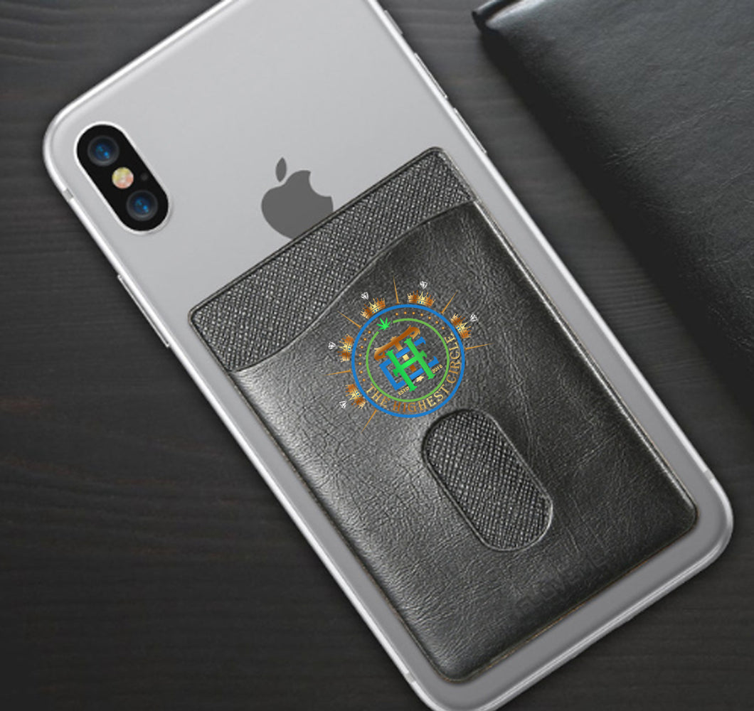 THE HIGHEST CIRCLE APPAREL PHONE WALLET CASE 3M STICK ON