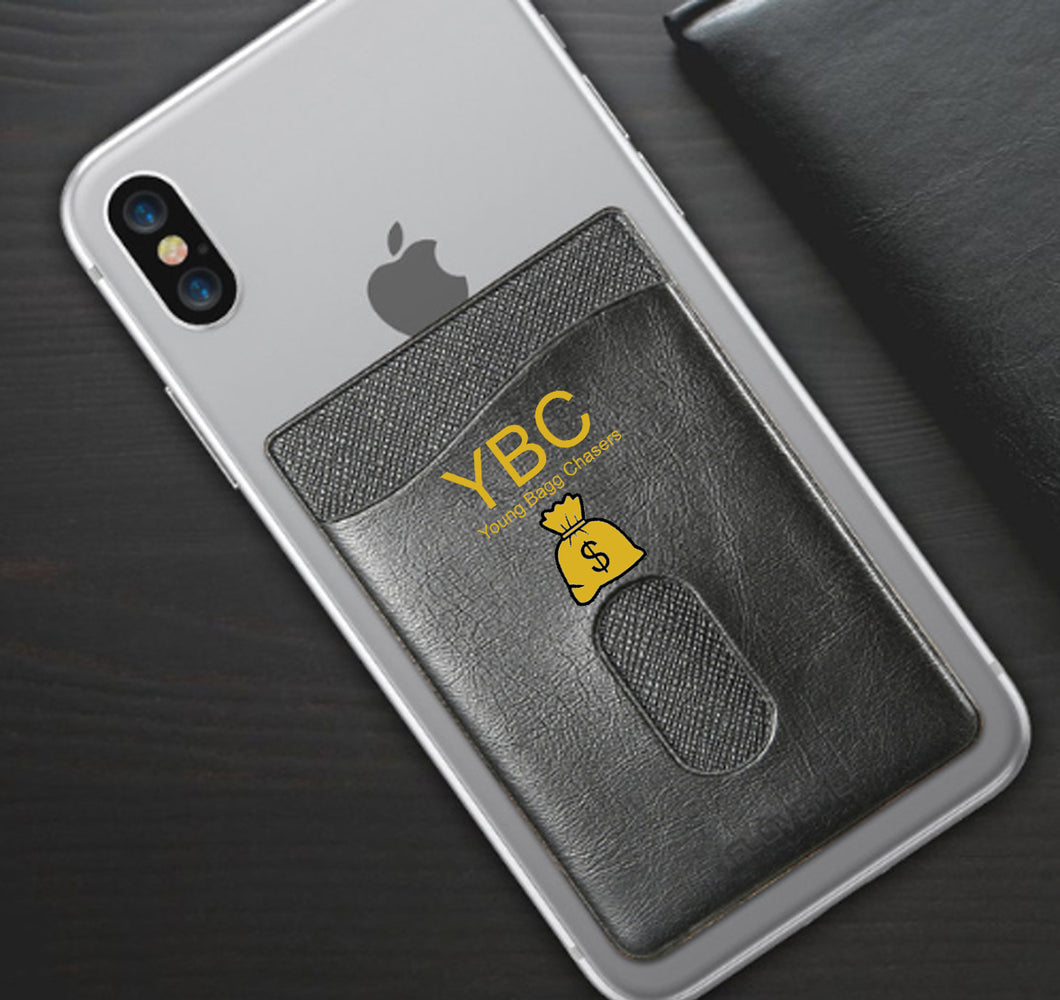 YBC APPAREL PHONE WALLET CASE 3M STICK ON