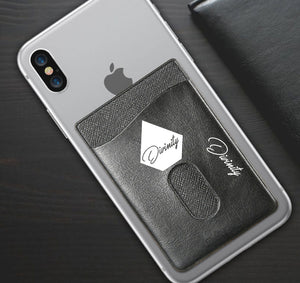 DIVINITY APPAREL PHONE WALLET CASE 3M STICK ON