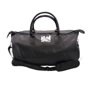 ROCTOWN APPAREL Vegan Leather Overnight Bag w/ Side pockets