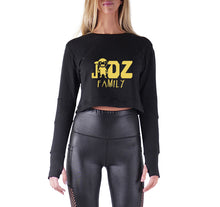 Load image into Gallery viewer, JIDZ FAMILY APPAREL PREMIUM LONG SLEEVE CROP TOP - WOMEN'S SLIM FIT