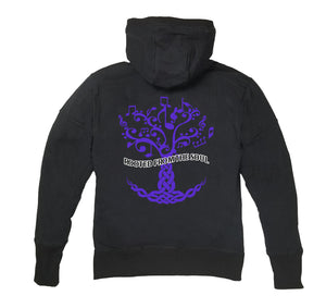 ROOTED FROM THE SOUL APPAREL PREMIUM SIDE ZIPPER HOODY - UNISEX