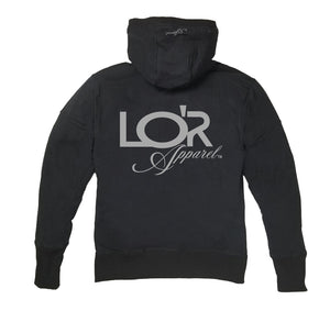 LOR APPAREL PREMIUM SIDE ZIPPER HOODY - UNISEX