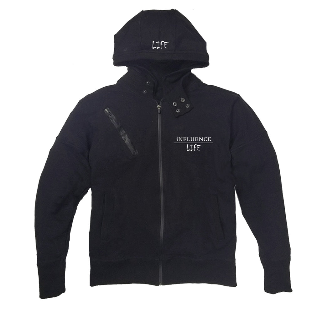 INFLUENCE LIFE APPAREL PREMIUM SIDE ZIPPER HOODY - UNISEX