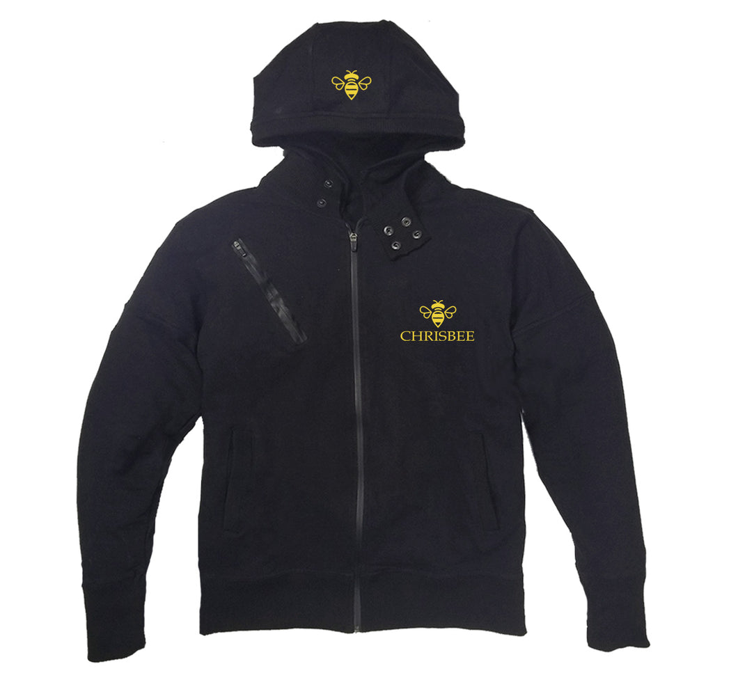 CHRISBEE APPAREL PREMIUM SIDE ZIPPER HOODY - UNISEX