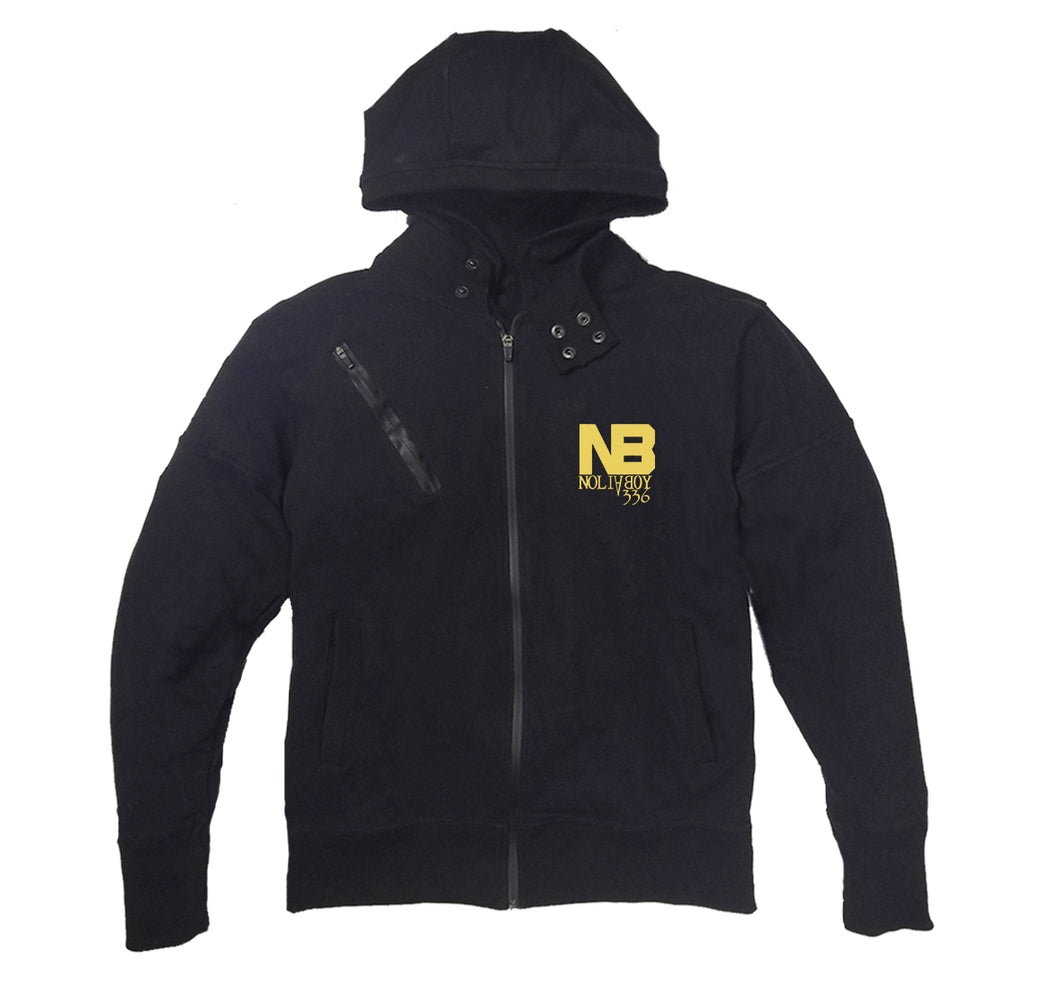 NOLIA BOY APPAREL PREMIUM SIDE ZIPPER HOODY - UNISEX
