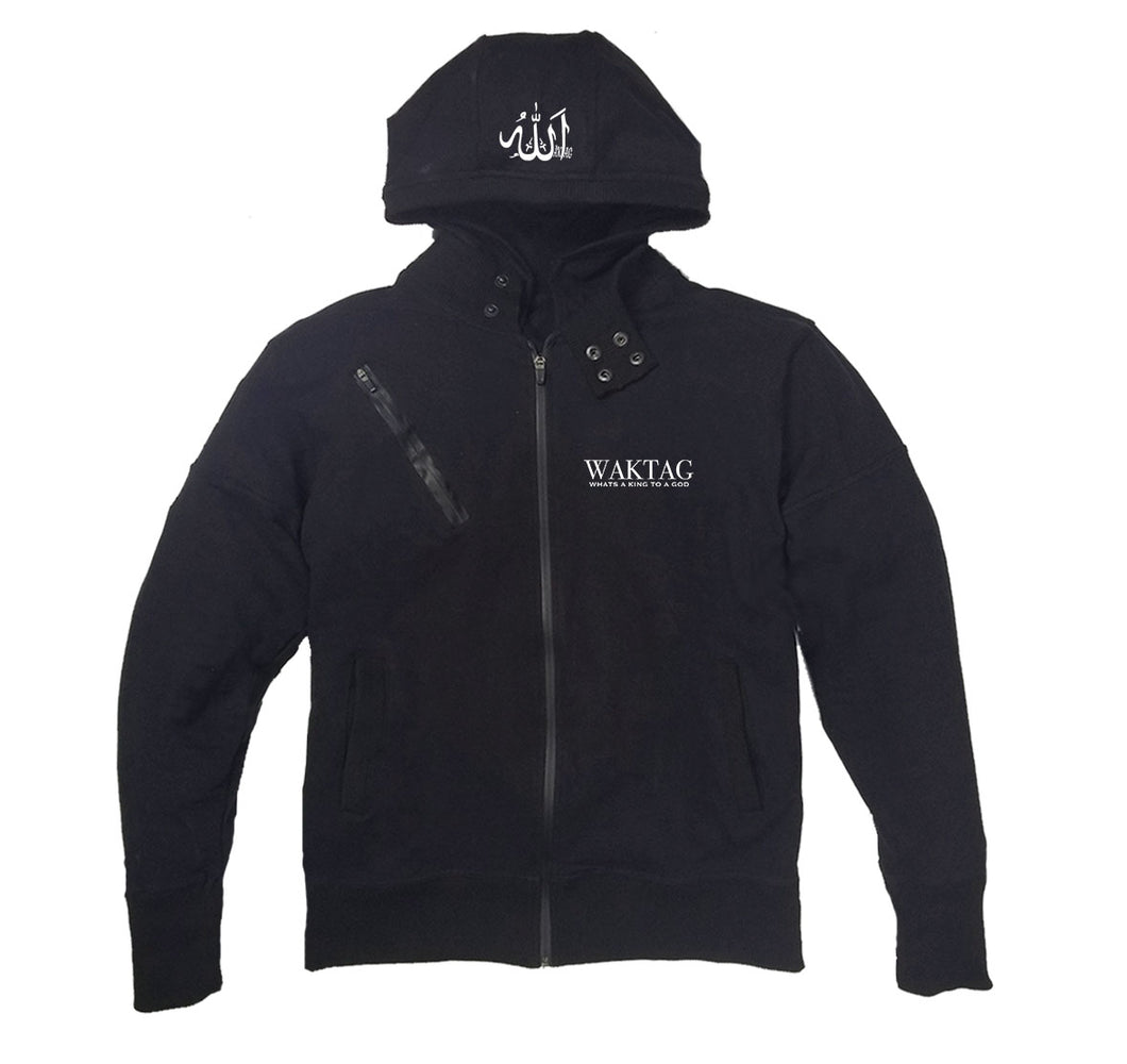 WAKTAG APPAREL PREMIUM SIDE ZIPPER HOODY - UNISEX