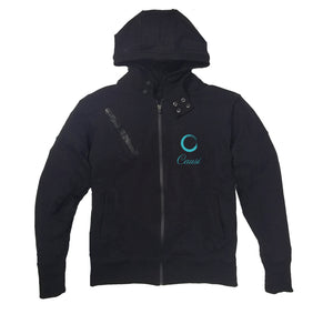 CAUSI APPAREL PREMIUM SIDE ZIPPER HOODY - UNISEX