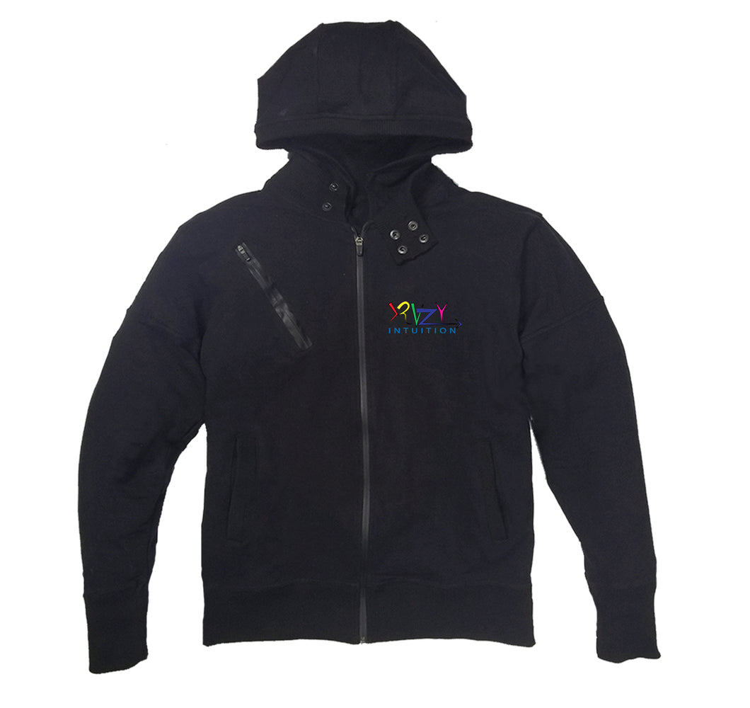 KRAZY INTUITION APPAREL PREMIUM SIDE ZIPPER HOODY - UNISEX