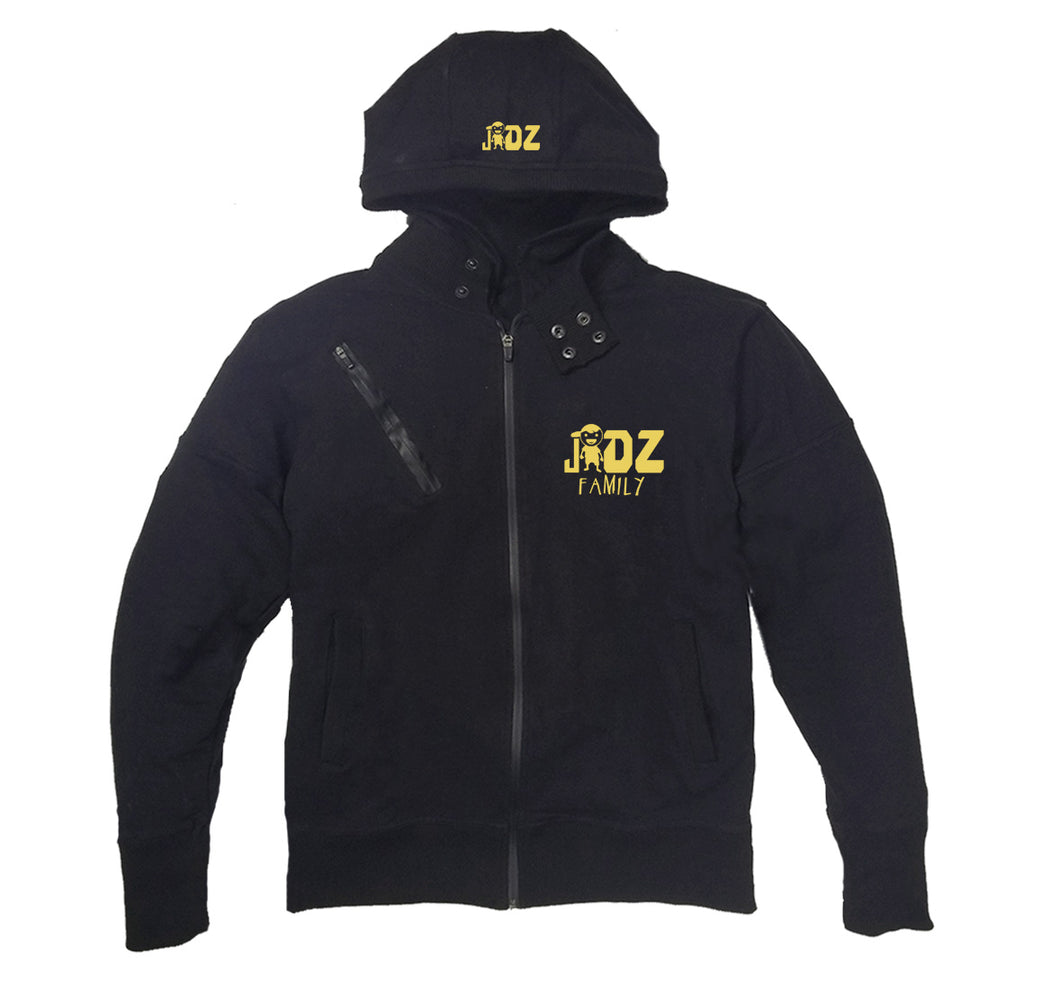 JIDZ FAMILY APPAREL PREMIUM SIDE ZIPPER HOODY - UNISEX