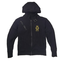 Load image into Gallery viewer, SOVA BLACK APPAREL PREMIUM SIDE ZIPPER HOODY - UNISEX