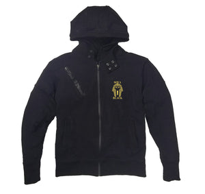 SOVA BLACK APPAREL PREMIUM SIDE ZIPPER HOODY - UNISEX