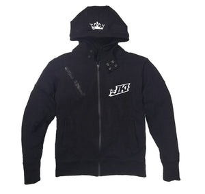 JUST KICKIN IT APPAREL PREMIUM SIDE ZIPPER HOODY - UNISEX