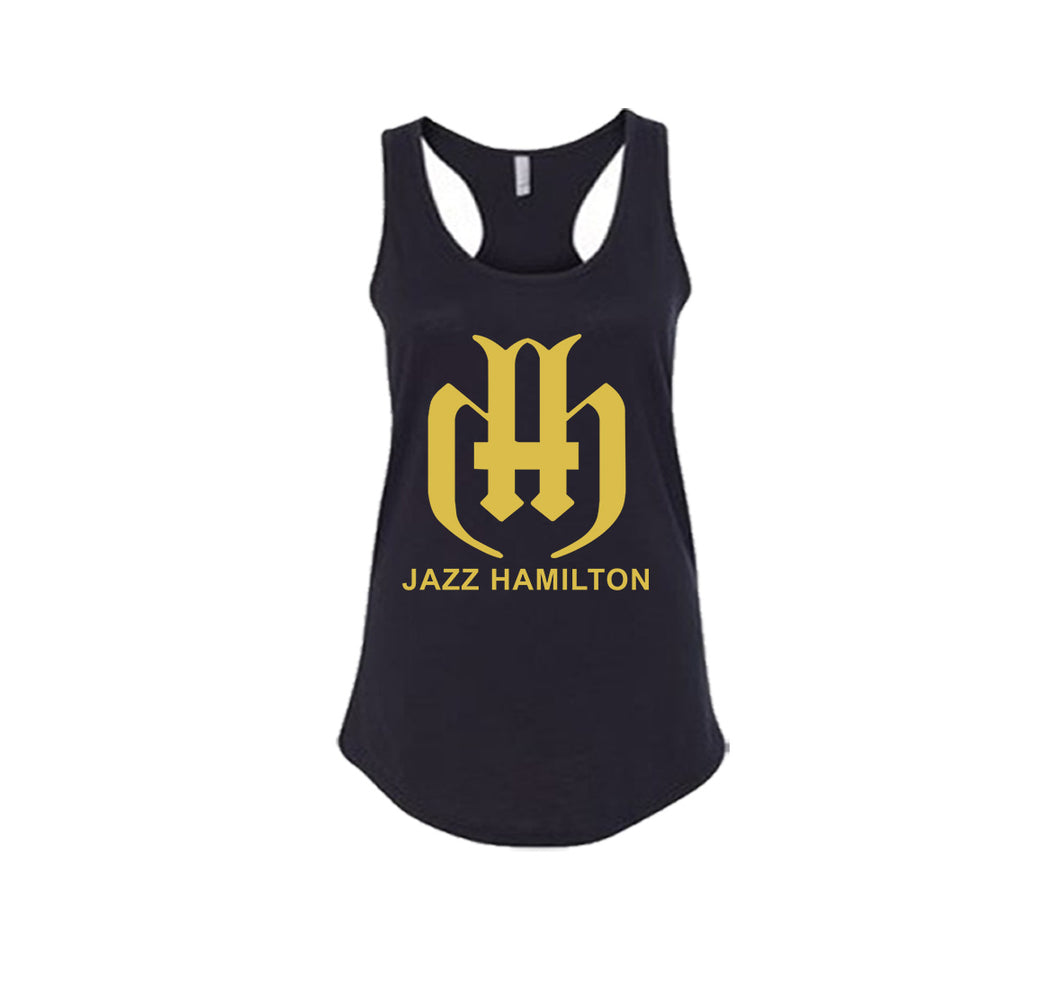 JAZZ HAMILTON PREMIUM RACER BACK TANK TOP - WOMEN'S SLIM FIT