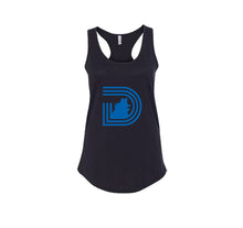 Load image into Gallery viewer, STONEY CROOKS PREMIUM RACER BACK TANK TOP - WOMEN'S SLIM FIT