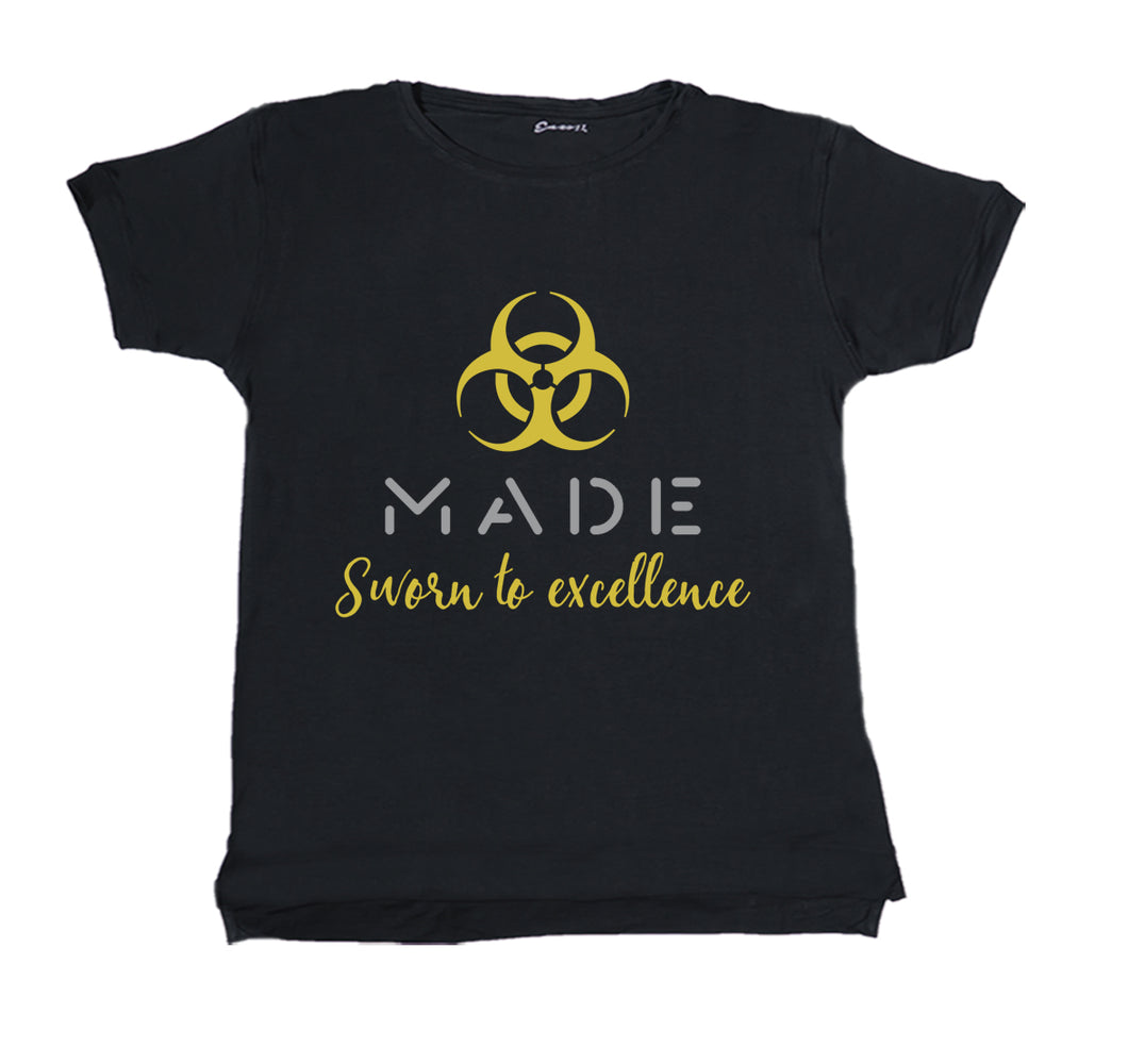 MADE APPAREL PREMIUM T-SHIRT PRINT - UNISEX SLIM FIT